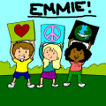 love peace earth - emmie, 11
