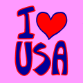 I love USA - Hedda, 11